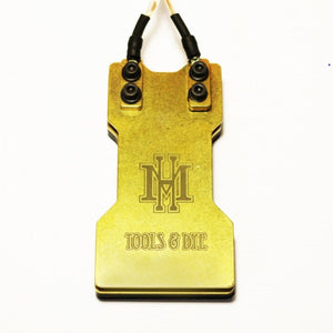 HM 2-Plate Brass Heavy Duty Foot Switch