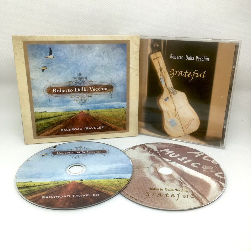 Folk Bluegrass CD COMBO Bundle - Roberto Dalla Vecchia