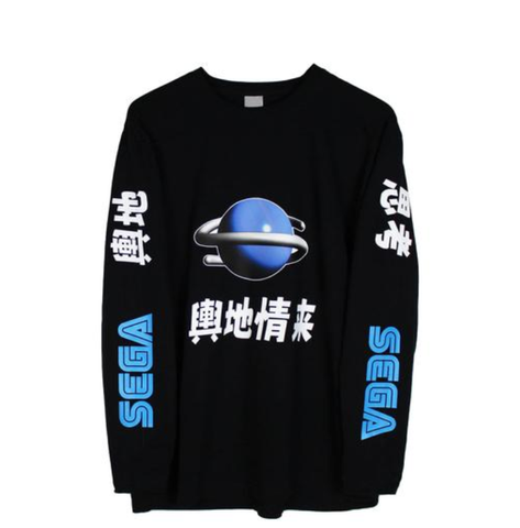 SEGA GENISIS LONG SLEEVE