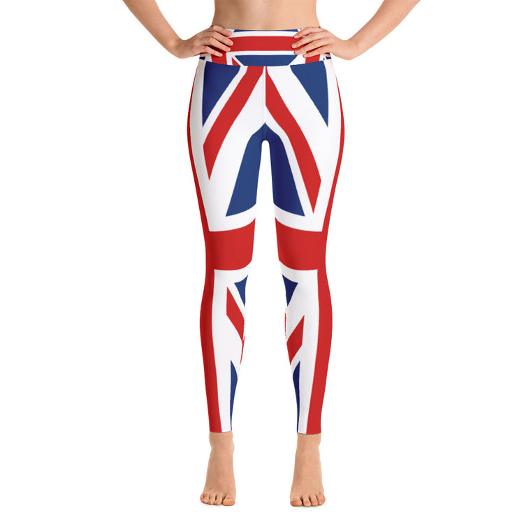 British Flag Yoga Leggings