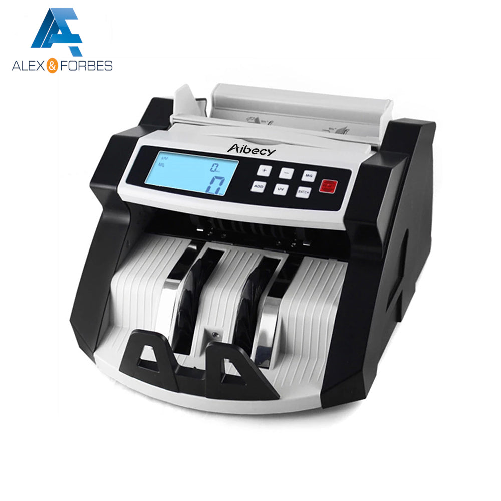 Automatic Multi-Currency Counting Machine w/ UV MG Detector