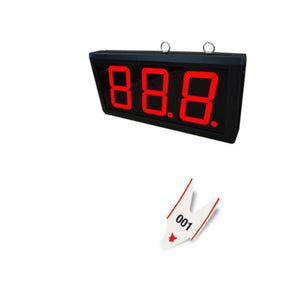 3 Digit LED Counter Display- AQ10