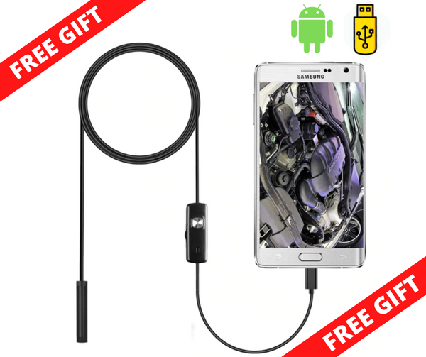 FREE! Endoscope Flexible Camera Inspection Borescope