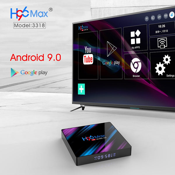 H96 MAX Smart TV Box Android 9.0