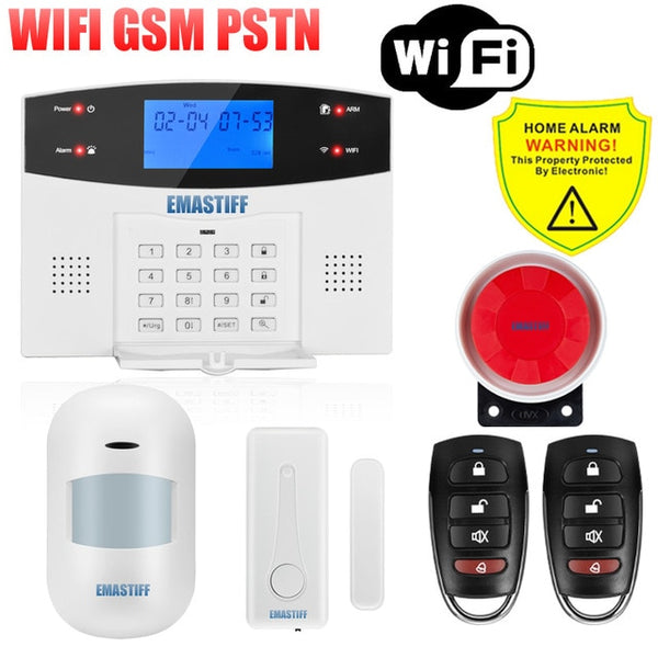 Android Autodial Remote Controlled Intercom Home Security Alarm System