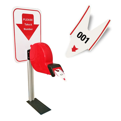 Manual Queue Management System Ticket Dispenser