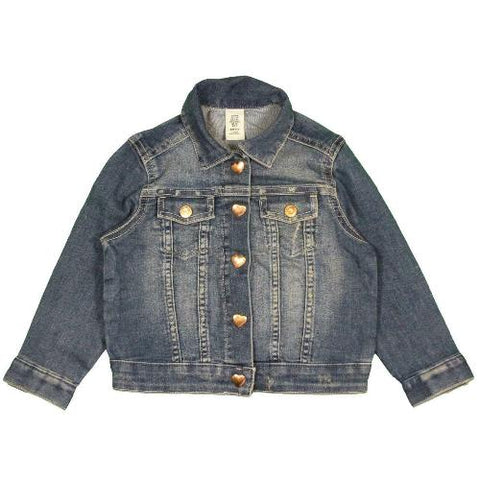 New Kids Girls Distressed Denim Jacket - Ex Store