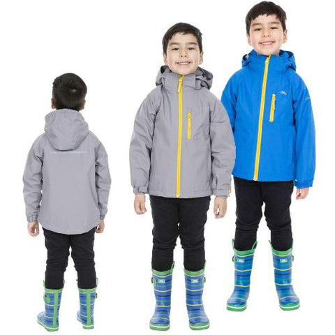 Kids Trespass OVERWHELM Waterproof Jacket