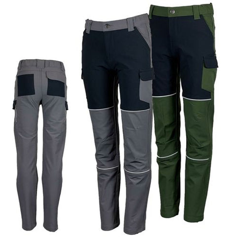 Kids Junior Outdoor Activity Action Workwear Cargo Trousers