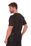 Active Sports Tshirt Black Side