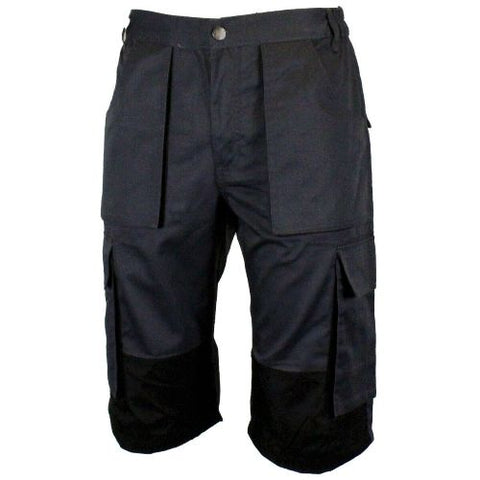 Mens Multipocket Cargo Contrast Work Shorts - DW10