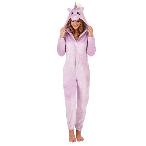 Ladies Novelty Sparkle Unicorn Onesie