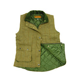 Game Ladies Derby Tweed Gilet Flat