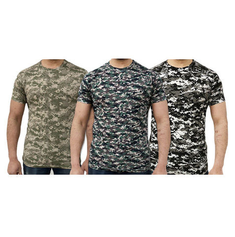 Game Digital Camouflage Tshirts