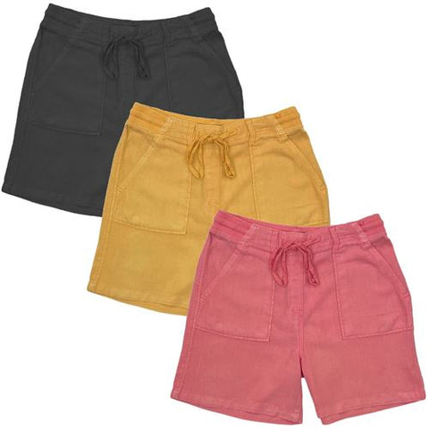 Ladies Linen Summer Shorts