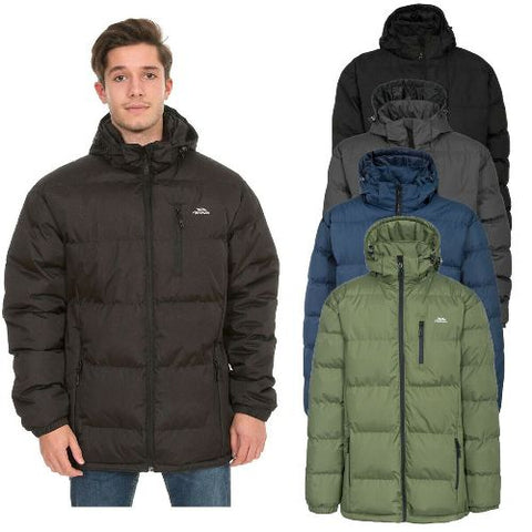 Trespass Clip Mens Warm Quilted Padded Puffer Jacket