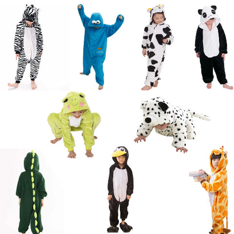 Kids Kigurumi/Novelty Onesies (6 pcs)