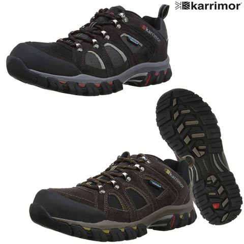 Mens Karrimor Bodmin IV Weathertite Low Rise Waterproof Hiking Shoes