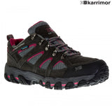 Ladies Karrimor Bodmin V Weathertite Low Rise Waterproof Hiking Shoes