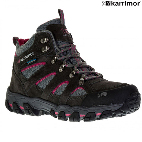 Ladies Karrimor Bodmin V Weathertite Mid Rise Waterproof Hiking Shoes