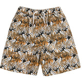 Boys Beach Print Bermuda Swimming Shorts