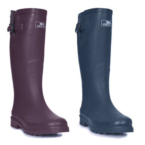 Ladies Trespass Damon Waterproof Wellingtons