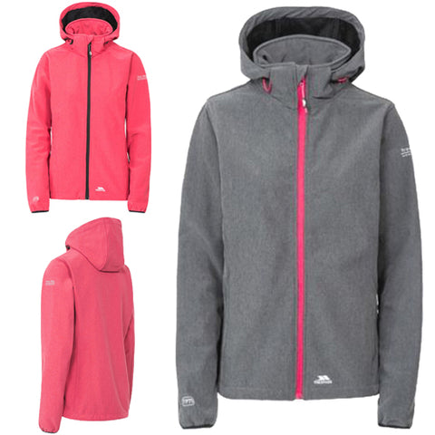 Ladies Trespass Ramona Softshell Waterproof Hooded Jacket