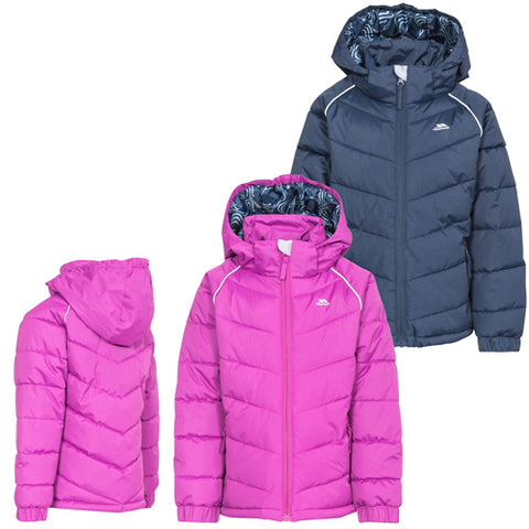 Trespass 'Sheer' Girls Waterproof Padded Jacket