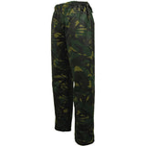 Game Camouflage Wax Trousers Side