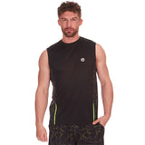 Red Tag Active Sports Vest Black