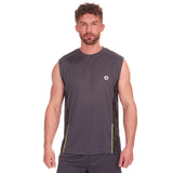 Red Tag Active Sports Vest Charcoal
