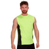 Red Tag Active Sports Vest Bright Green