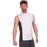 Red Tag Active Sports Vest Optic White