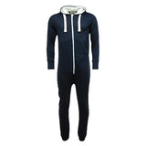 Adult Unisex Plain Onesie Navy