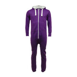 Adult Unisex Plain Onesie Purple