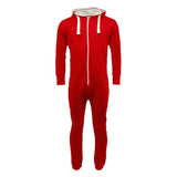 Adult Unisex Plain Onesie Red