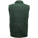 Suffolk Padded Bodywarmer Forest Back