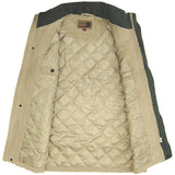 Suffolk Padded Bodywarmer Taupe Inside