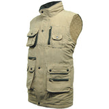 Suffolk Padded Bodywarmer Taupe Side