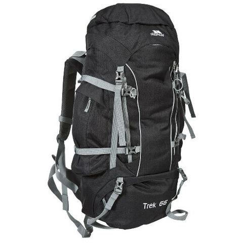 Trespass 'Trek' 66 Litre Camping Hiking Bag Travel Backpack