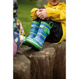 Kids Trespass Splash II Wellies Waterproof Wellington Boots