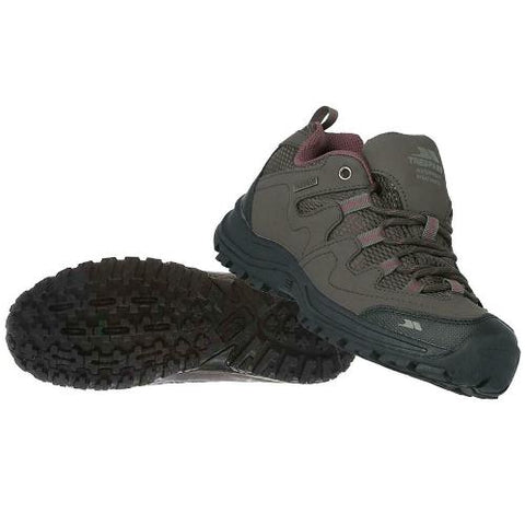 Ladies Trespass Mitzi Low Cut Waterproof Walking Hiking Shoes
