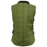Game Abby Tweed Gilet from Behind