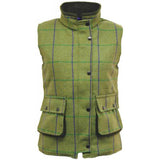 Game Abby Tweed Gilet with Popped Collar