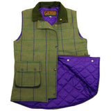 Game Abby Tweed Gilet Interior