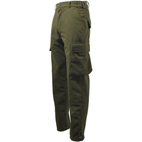 Game EN302 Stealth Waterproof Trousers Hunters Green Front