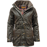 Game Ladies Cantrel Antique Waxed Jacket Brown