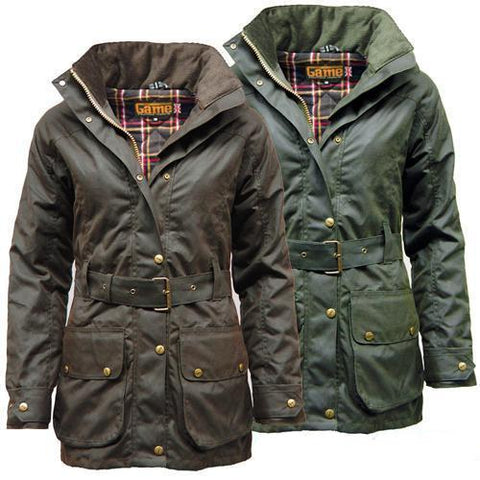Game Ladies Cantrel Antique Waxed Jacket Gallery