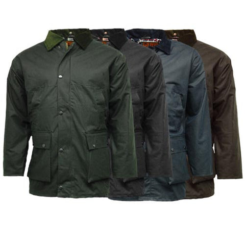 Game Mens Unpadded Wax Jacket Gallery