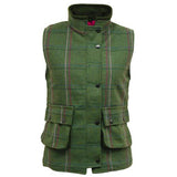 Game Ruby Tweed Gilet with Popped Collar